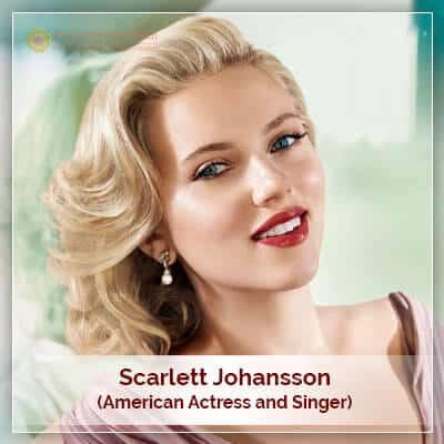 About Scarlett Johansson Horoscope