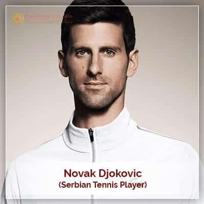 Novak Djokovic Horoscope Chart