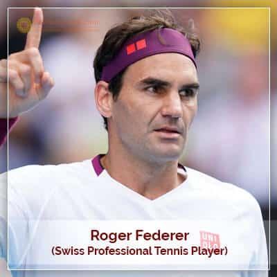 About Roger Federer Horoscope