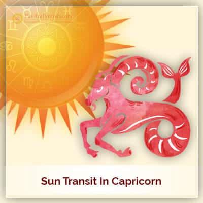 Sun Transit In Capricorn Horoscope