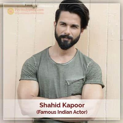 About Shahid Kapoor Horoscope