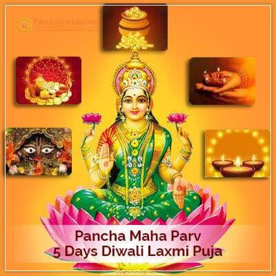 5 Days Diwali Laxmi Puja