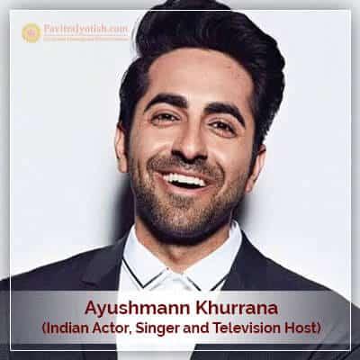 About Ayushmann Khurrana Horoscope