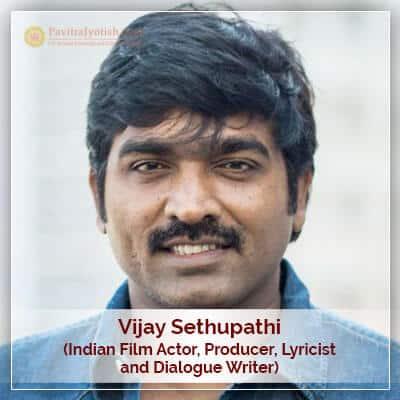 Vijay Sethupathi Horoscope Prediction