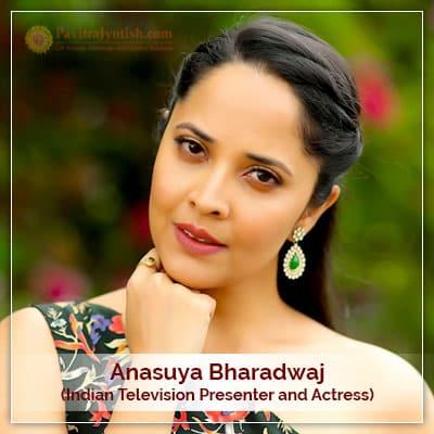 Anasuya Bharadwaj Horoscope Astrology