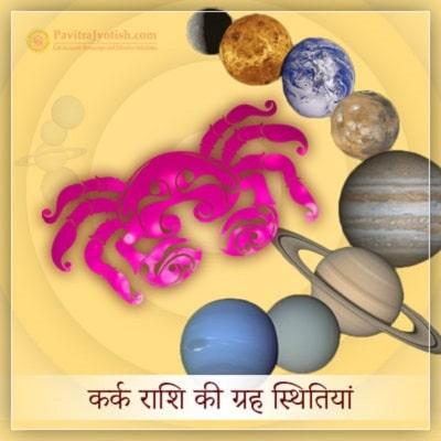 2020 कर्क राशि (Kark Rashi) की ग्रह स्थितियां
