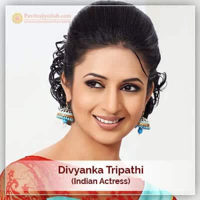Divyanka-Tripathi Astrology Horoscope