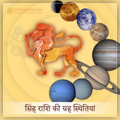2020 सिंह राशि (Singh Rashi) की ग्रह स्थितियां