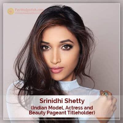 About Srinidhi Shetty Horoscope