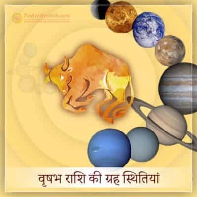 2020 वृषभ राशि (Vrishabh Rashi) की ग्रह स्थितियां