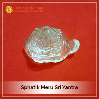 Original Sphatik Meru SriYantra