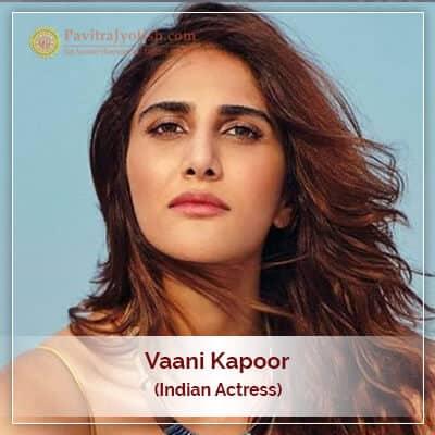 Vaani Kapoor Astrology Prediction