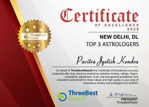 Best Astrologer Delhi Award